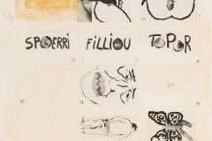 Daniel Spoerri, Vera Spoerri, Roland Topor, Robert Filliou