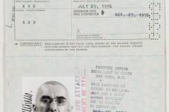 Pasas / Passport