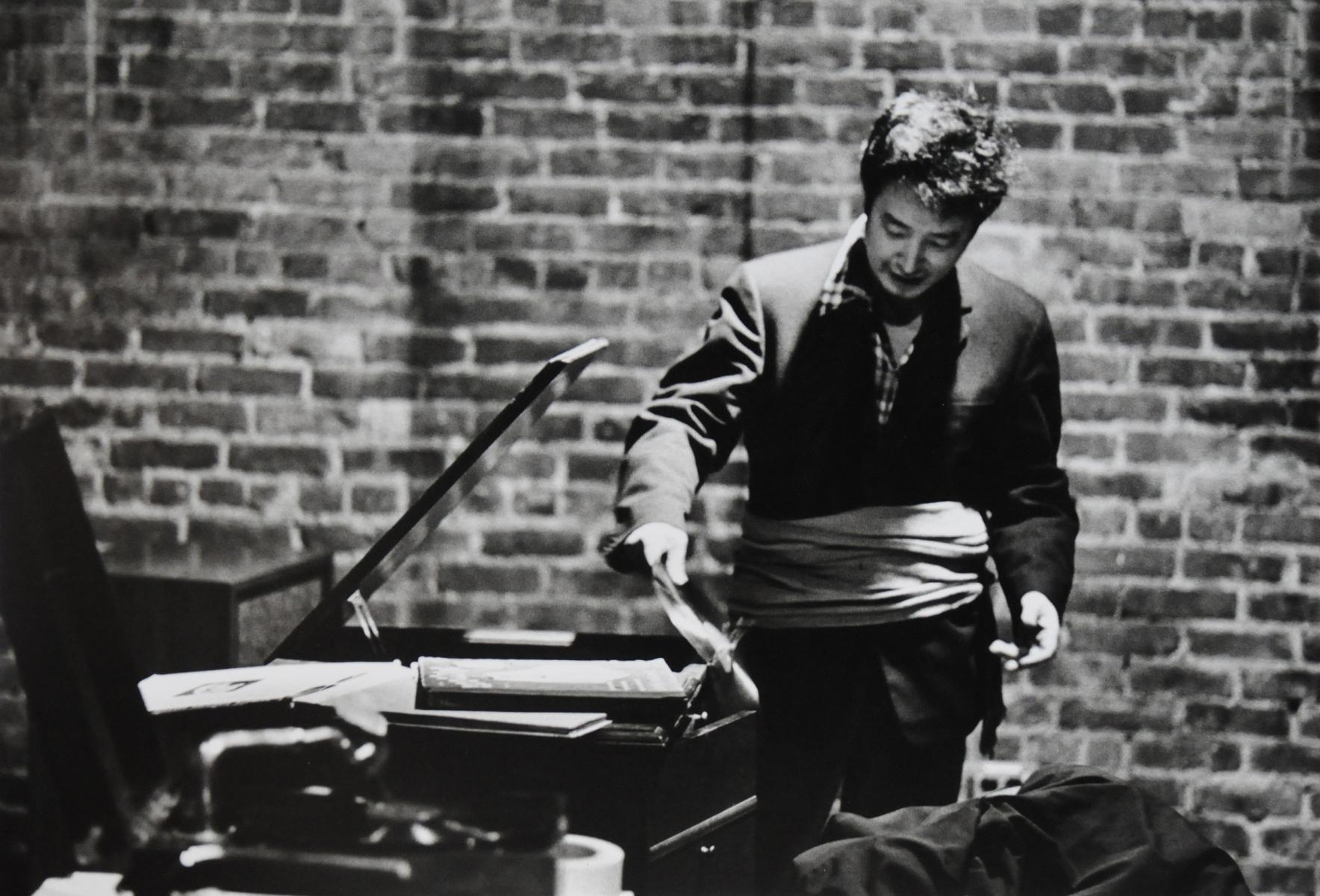 Peter Moore, Fluxus Sonata No. 4, Anthology Film Archives, New York (1975)