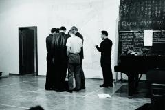Manfred Leve, Fluxus Champion Contest, Festum Fluxorum Fluxus: Musik und Antimusik, Das Instrumentale Theater, Staatliche Kunstakademie, Dusseldorf (1963)
